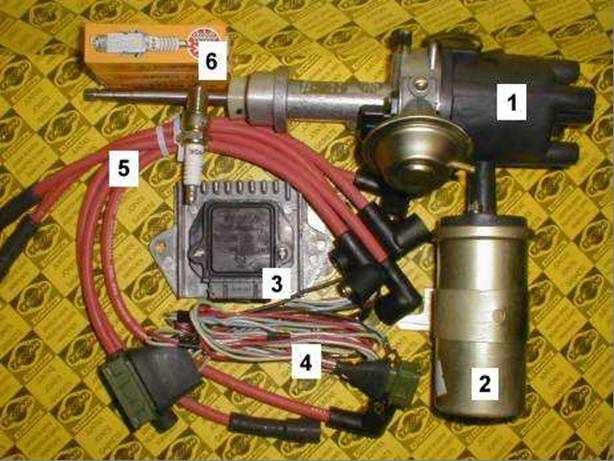 Катушка зажигания (2) типа