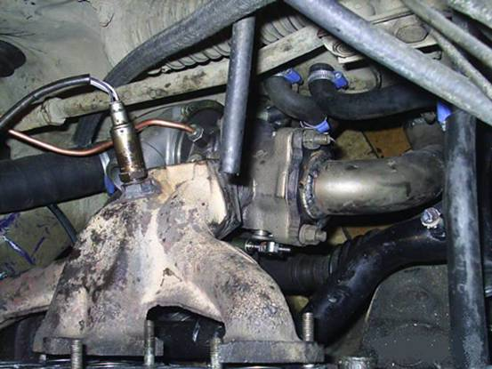 Турбокомпрессор на ВАЗ-21083